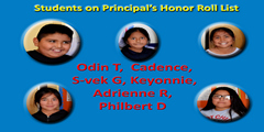 Honor Roll:Quarter 1